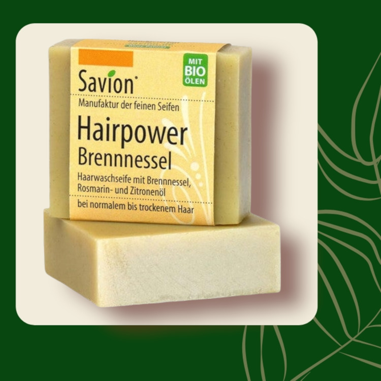 Haarzeep Hairpower brandnetel - 80 gr.