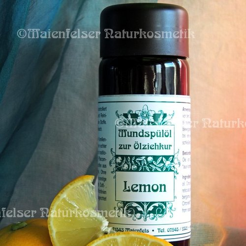 Oil pulling Lemon - 100 ml